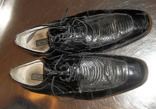 TSA spokeswoman Lisa Farbstein said a man tried to sneak box cutters through a TSA checkpoint in Harrisburg International Airport, including inside the lining of one of his shoes, on July 7, 2019.