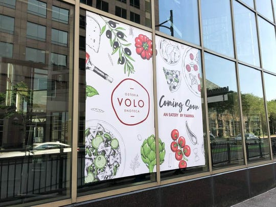 Osteria VOLO Enoteca promises a late July opening in Cafe Sol's old spot.