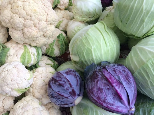 Cabbage and cauliflower are among the vegetables you can plant in summer for fall harvest.