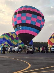 """The 5th annual Balloons Over DeSoto festival will be 4 p.m. and 10 p.m. Sunday, July 14 at the C. E. """"Rusty"""" Williams Airport in Grand Cane."""
