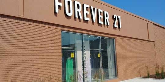 Forever 21 at Crossroads Center in St. Cloud on Monday, July 8, 2019, is slated to close by the end of the month.