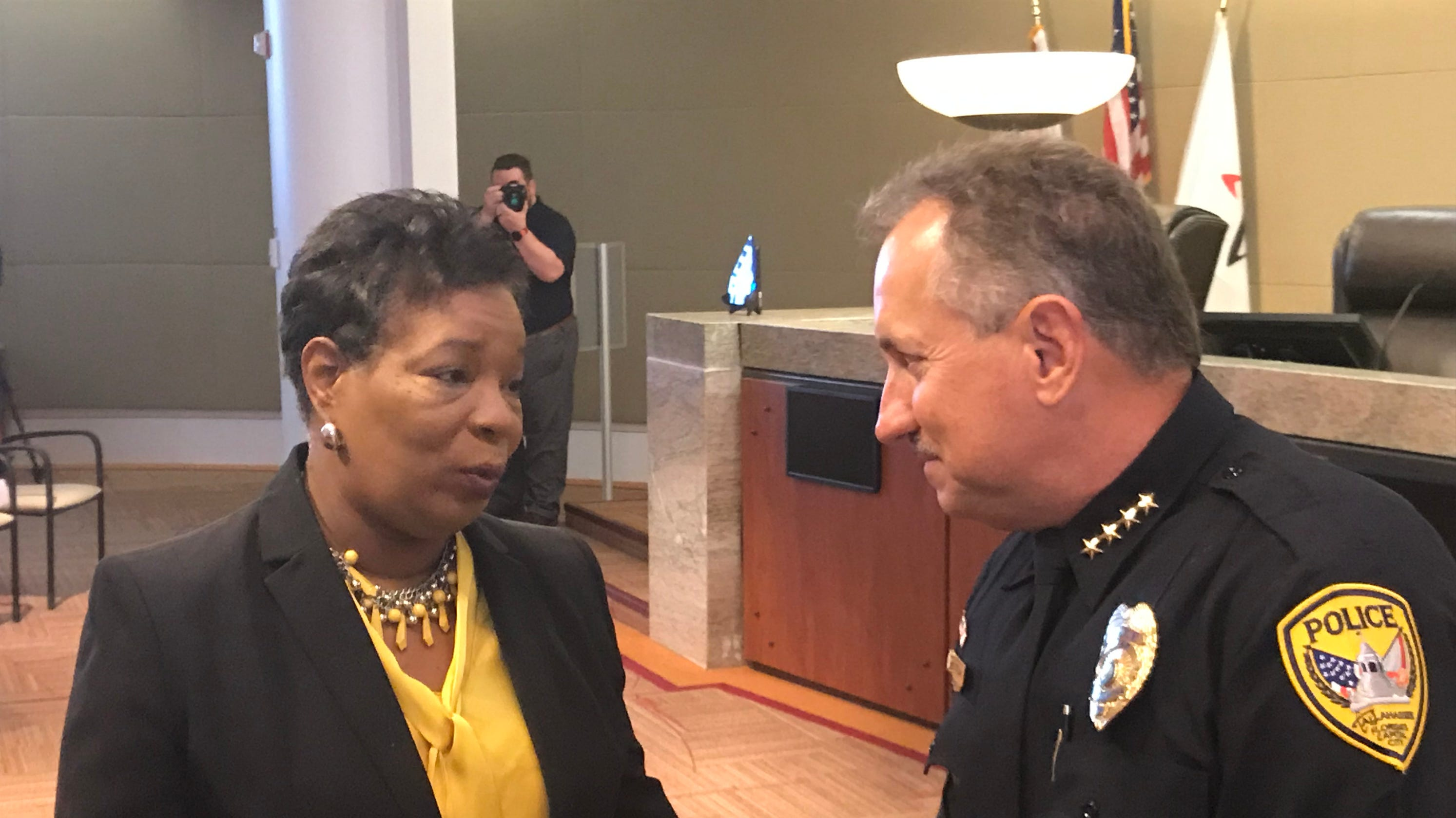 Interim Tallahassee Police Chief Steve Outlaw takes the helm