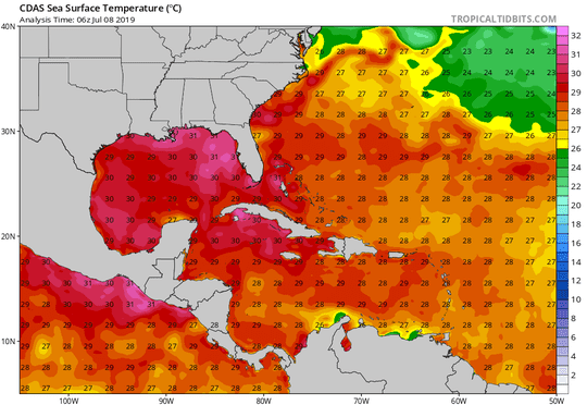 CDAS Sea Surface Temperature
