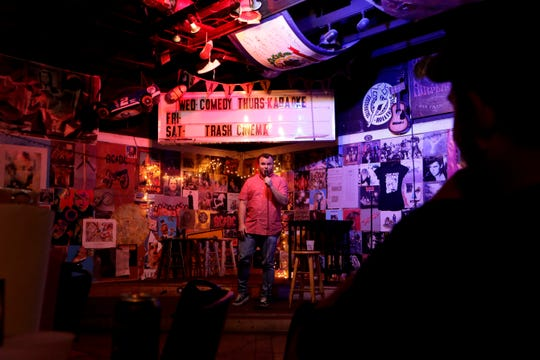 Bird's Aphrodisiac Oyster Shack hosts stand-up comedy on Wednesday and Sunday nights.