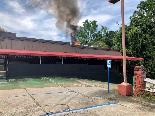 A kitchen fire damaged the Joy Luck Place restaurant Monday.