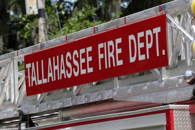 The Tallahassee Fire Department responded to a mobile home fire Sunday evening, May 24, 2020, off Maige Road near Blountstown Highway on the west side of Tallahassee.