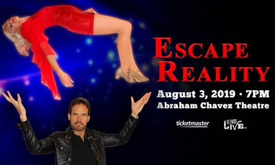 Escape Reality is the name of illusionists Garry and  Janine Carson's show.