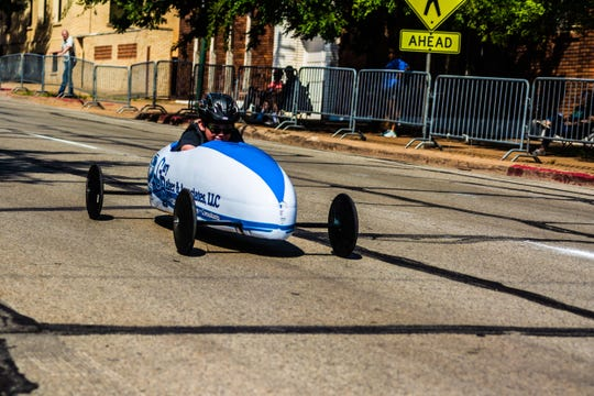 The 2019 Soap Box Races will take place from 9 a.m. to noon, Saturday at the Downtown YMCA. There will also be a car show, lots of games and activities like bumper cars and finally  the largest inflatable water slide in the state of Texas, 36 feet tall and 120 feet long.