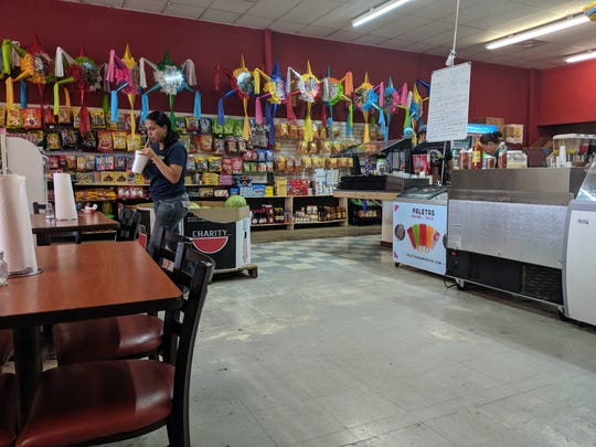 Inside Tortilleria Lupita.