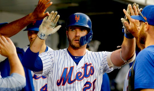 Pete Alonso has slugged a Mets rookie record 30 home runs this season.