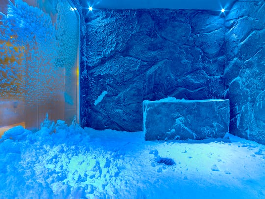 Before dipping into the sauna aboard Viking's newest ship Jupiter, cool off at the Snow Grotto, where snowflakes fall on you in chilled air. This process follows a centuries-old Nordic relaxation tradition