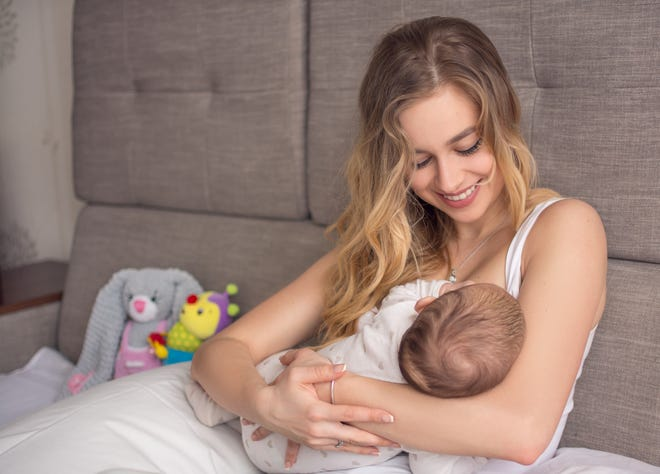 It is recommended by the American Academy of Pediatrics and the CDC that all infants are fed solely breastmilk for the first six months of life.