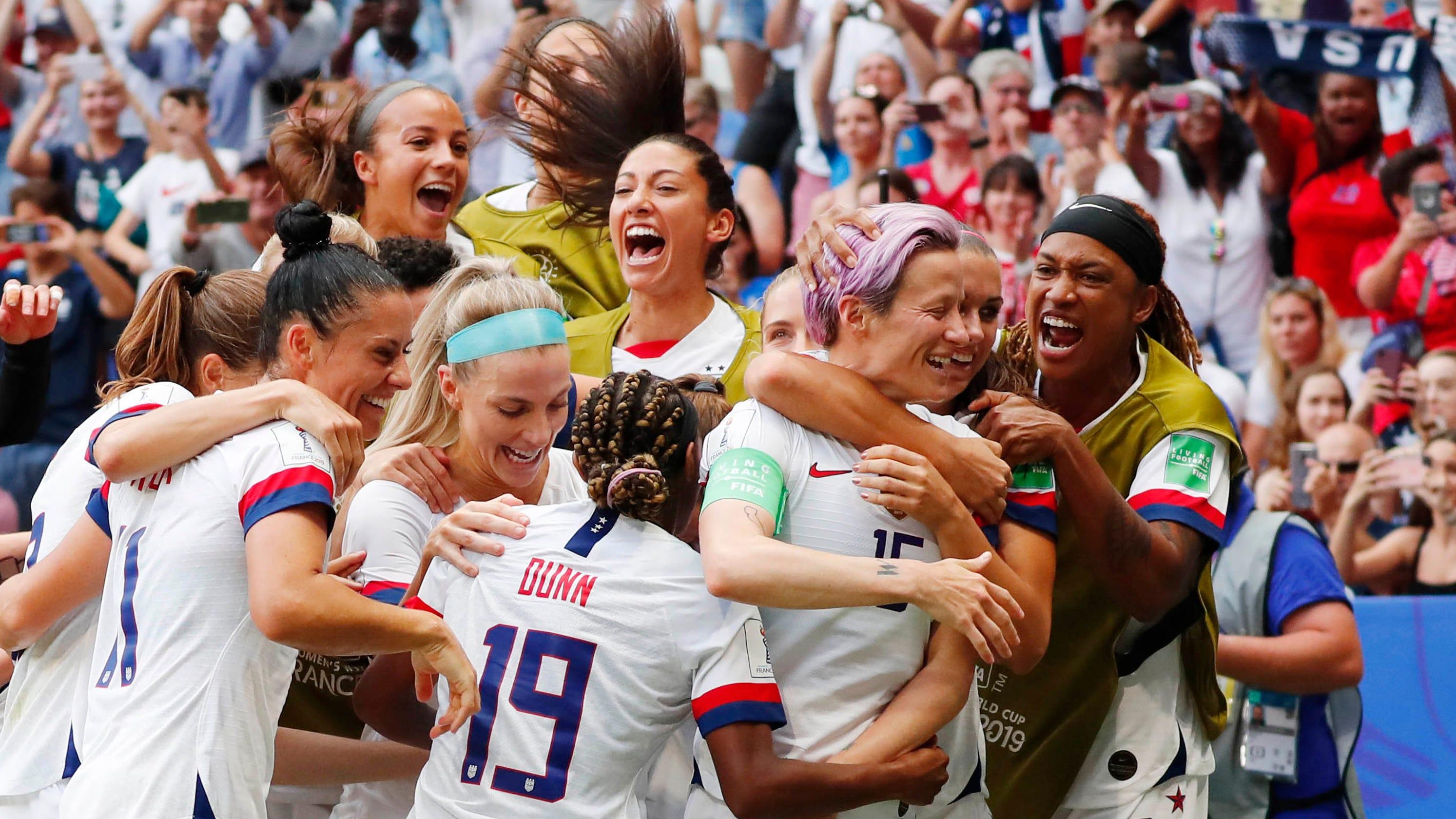 best website f4418 6e042 Soccer Women's World Cup: Nike wins big, jerseys sell out