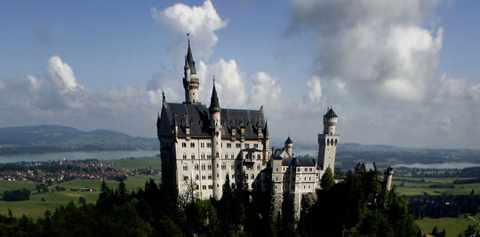 Bavaria's King Ludwig II only got to live in Neuschwanstein for 172 days before he died in 1886. The castle, which inspired the ones at Disney World and Disneyland, opened to the public less than two months later.