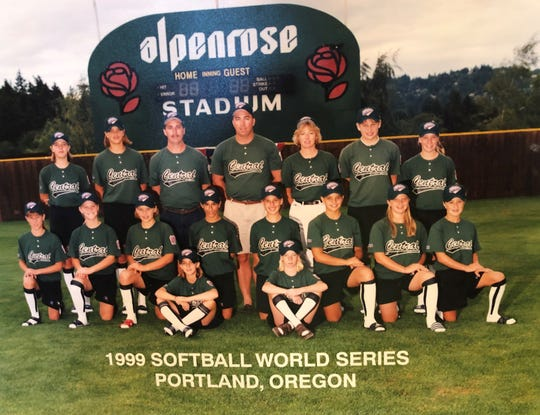 The South Appleton Little League softball team advanced to the Little League World Series in 1999, finishing third out of eight teams in Portland, Ore.