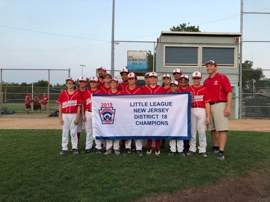 Holbrook Little League captures the District 18 championship