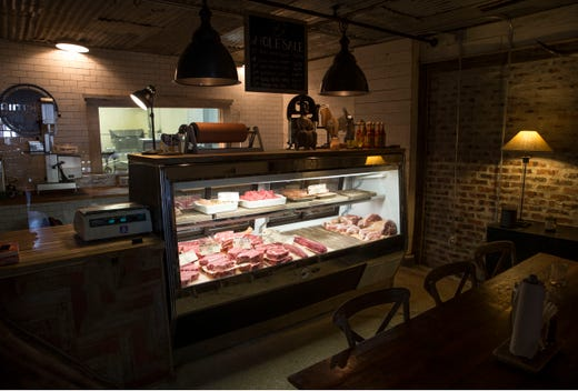The Butcher's Block, a restaurant opened by the owners of D'Ambrisi butchers, opened its doors in May. They specialize in meats from small family owned farms throughout New York State and New Jersey.       Long Branch, NJ Tuesday, July 9, 2019