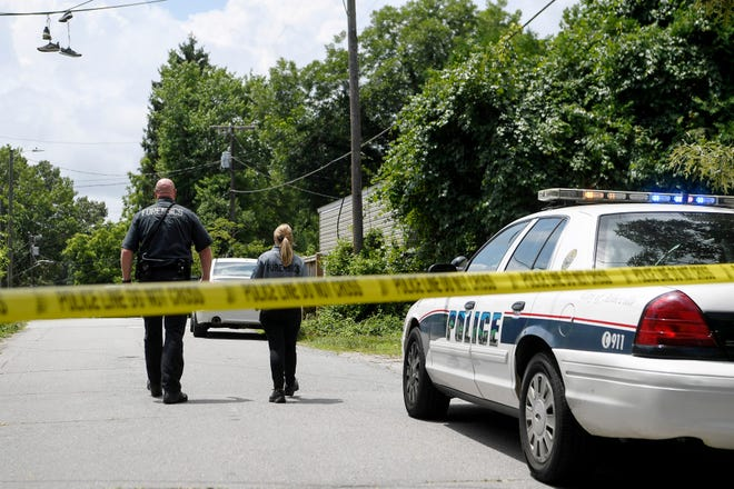 An Asheville Police officer was involved in a shooting around 10 a.m. July 9, 2019, on Oteen Church Road in East Asheville, leaving one man injured.
