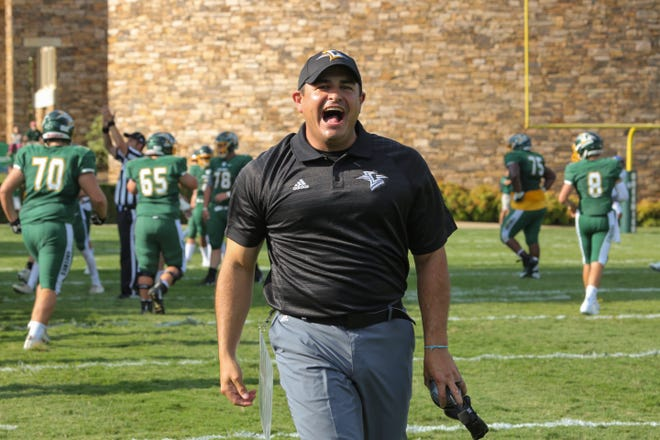 Nick Luhm has been named Christ School's new head football coach