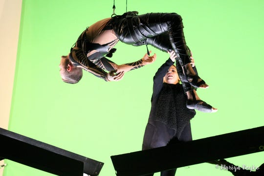 """Multimedia performance group Freckled Sky will bring """"The Challenge"""" to the LUMA Projection Arts Festival."""