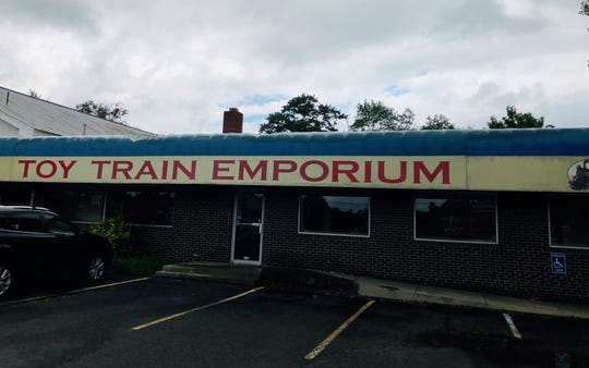 The long-vacant building at 41 Coles Ave. in Cherry Hill once held a toy train store. Now the Cherry Hill Food Pantry has launched a fundraising campaign to get the place running again.