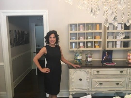 Dani Durante of Medford Lakes is shown inside of her new skincare boutique La Faccia Bella which recently opened in Medford. The former professional ballerina has persevered through challenging times early in life.