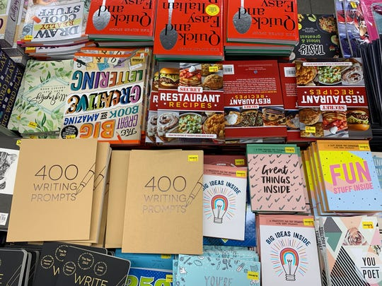 Various books, prices range from $1-$5
