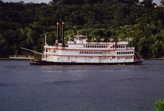 Previously, the Belle of Cincinnati went on a history cruise to remember the 1937 flood.