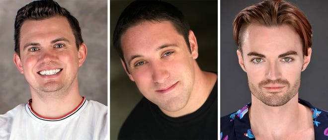 Ryan Bowie, Bryan Plummer and Ian Alexander Erbe star in CHARLEY'S AUNT at the Roxy Regional Theatre, July 12 - July 27