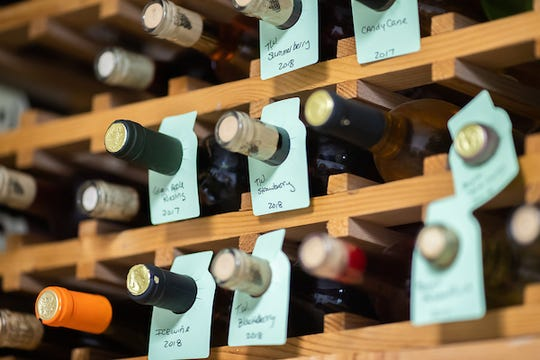 Some of the wines created by Chef Kelley Price, an instructor in Austin Peay State University's Culinary Arts program.