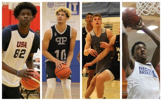 Left to right: Dudley Blackwell, Xavier Foster, Ben Carlson, Jamari Sibley