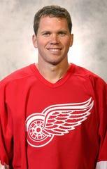 Former Red Wings forward Greg Johnson