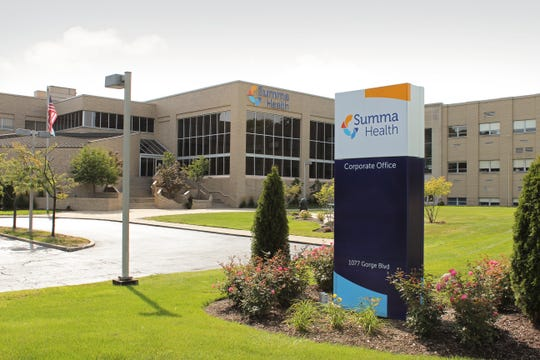 Summa Health's headquarters in Akron, Ohio.