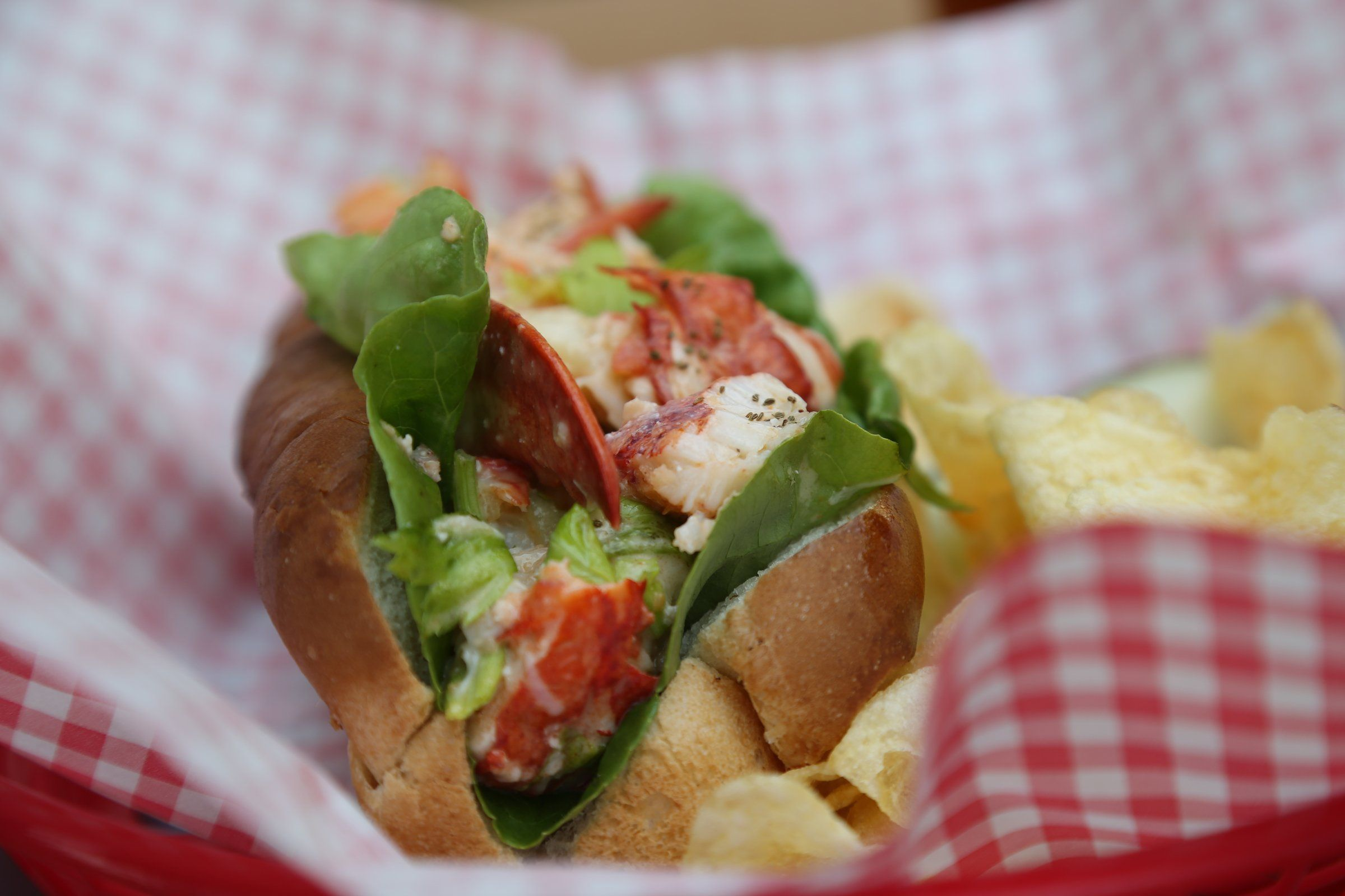 Lobster Roll at Great Lakes Culinary Center in Southfield.