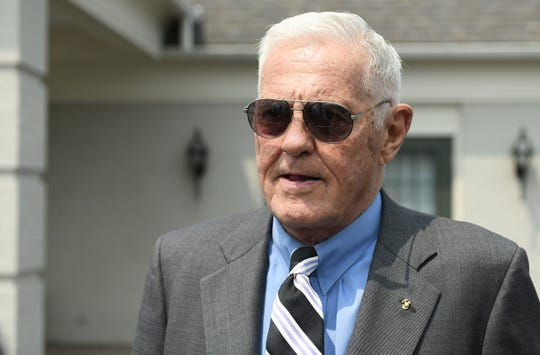 "Bob Lutz, former Chrysler president, credits Lee Iacocca with the ""revitalization of the automotive industry"" in Michigan."""