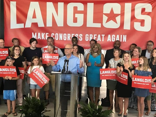 Grand Rapids area businessman Joel Langlois on Tuesday announced his bid for the Republican nomination to challenge U.S. Rep. Justin Amash, I-Cascade Township.
