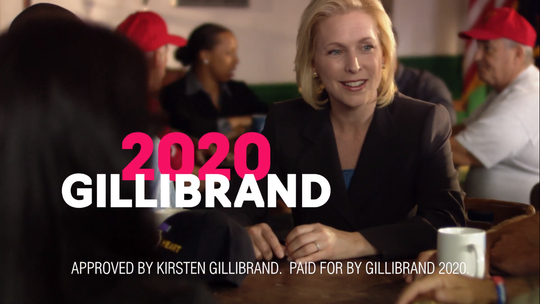 A Gillibrand 2020 ad set to air in Michigan