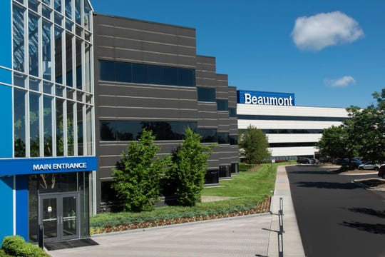 "The Beaumont hospital system has ""a robust water safety plan,"" officials said Friday."
