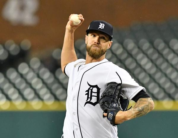Tigers closer Shane Greene, making his first All-Star appearance, has saved 22 of the 28 victories the Tigers have this season.
