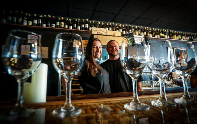 Ryan Lay and Naomi Layzer own Palace Pub & Wine Bar in Cape Coral.