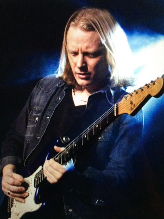 British blues guitarist Matt Schofield