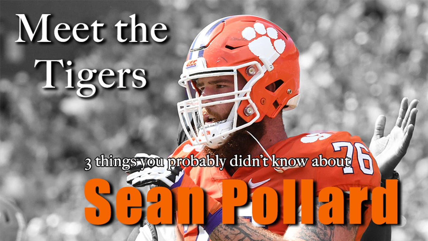 Meet the Tigers: 3 things you probably don't know about Clemson football OL Sean Pollard