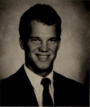Clemson University Taps yearbook photo of Jay Raymond