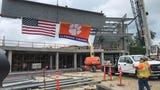 2020 in sight for start of Clemson softball with last beam placed in stadium