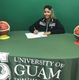 Alannah Crame signs with Lady Tritons basketball team