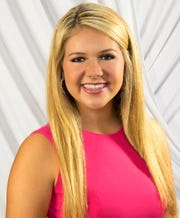 This is a May 7, 2019 file photograph that is being released with permission from the Little family of their daughter Lake Little, 18, of Starkville, Miss., who died late Saturday, July 6, 2019, of injuries from an air plane crash that happened hours earlier on the Ole Miss Golf Course near the University-Oxford Airport in Oxford, Miss.