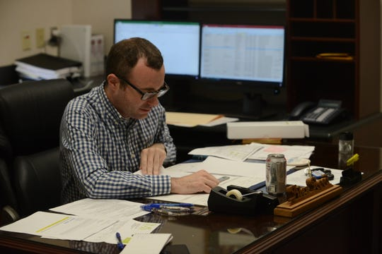 Alex Reed was named Jackson Mayor Scott Conger's administrative assistant.