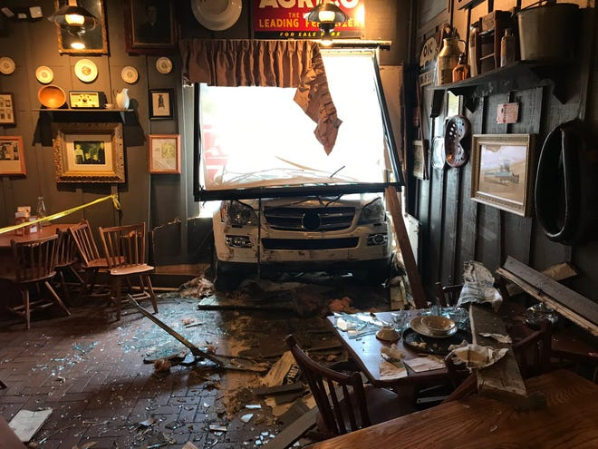 No serious injuries were reported when an SUV crashed into the Cracker Barrel off Washington Pike on Tuesday, July 9, 2019.