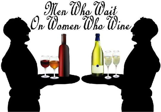 Men Who Wait on Women Who Wine poster