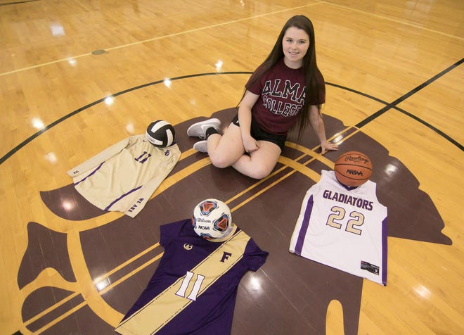 Fowlerville senior Jackie Jarvis will play soccer and basketball at Alma College.